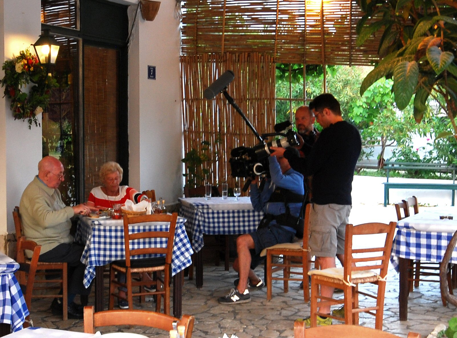 Brouklis Taverna photo shooting